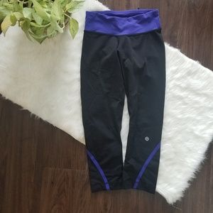 Lululemon workout capris